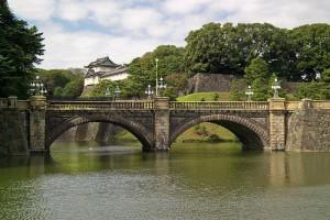 Nijubashi Bridge Royal High School of Tokyo Shout Banzai